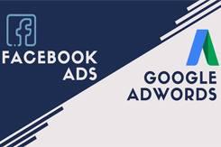 Quảng cáo Facebook, Google